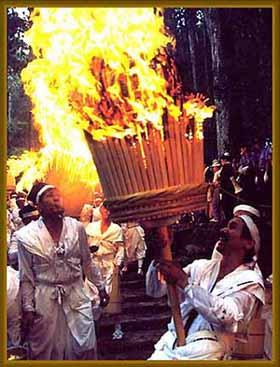 7月14日 那智の火祭り